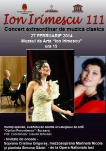 Concert extraordinar de muzică clasică